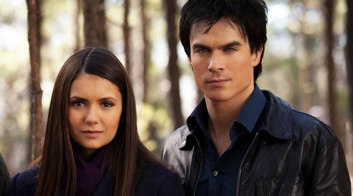 Damon y Elena