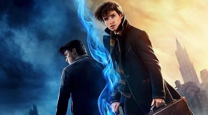 Harry Potter y Newt Scamander