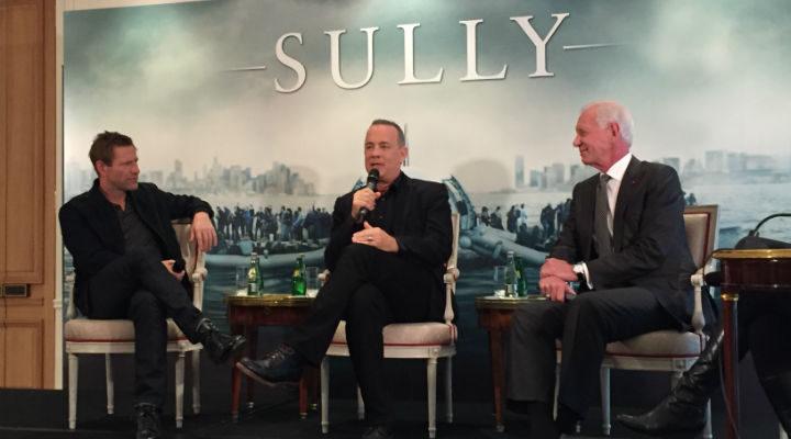 'Sully', rueda de prensa en París