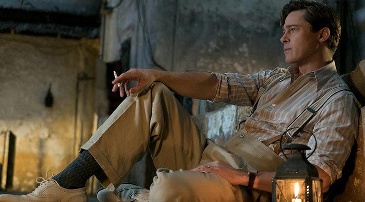 Brad Pitt en 'Aliados'