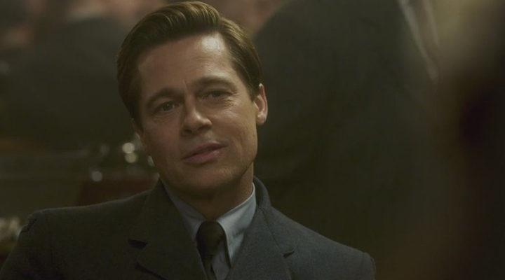 Fotograma de Brad Pitt en 'Aliados'