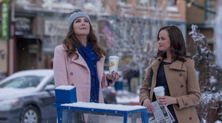 Lorelai y Rory en 'Las cuatro estaciones de las chicas Gilmore'