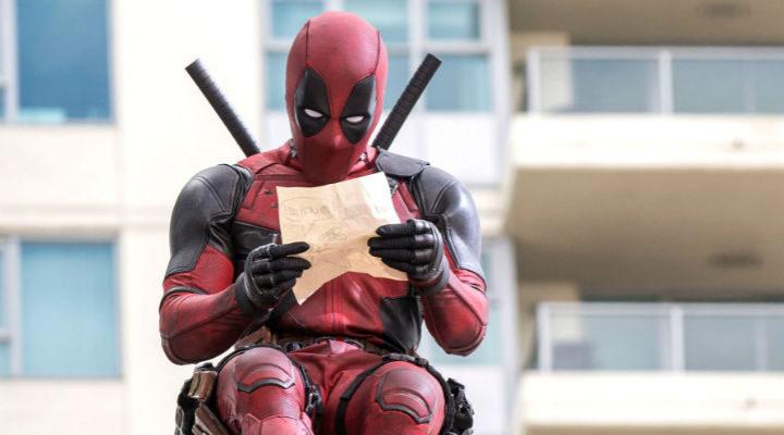 Deadpool haciendo su top de lo mejor de 2016