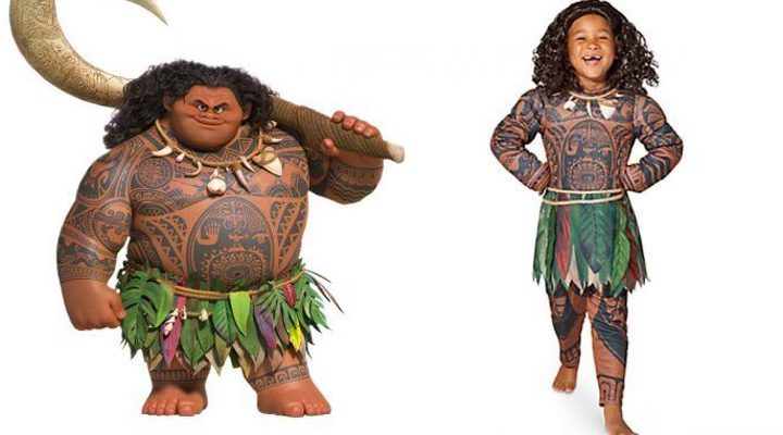 Disfraz Maui de 'Vaiana'