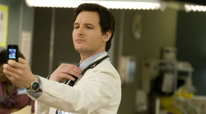 Peter Facinelli en 'Nurse Jackie'