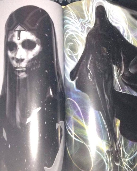 Primeros bocetos de 'Doctor Strange'