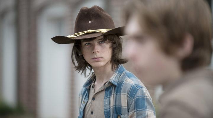 Chandler Riggs como Carl en TWD