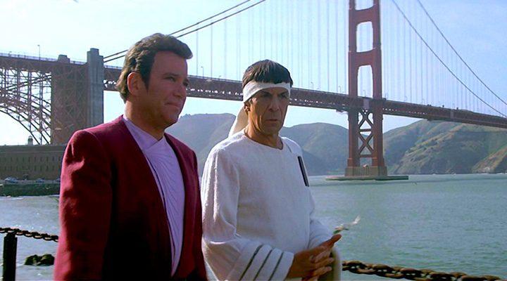 Kirk y Spock en 'Star Trek IV: Misión, salvar la Tierra'