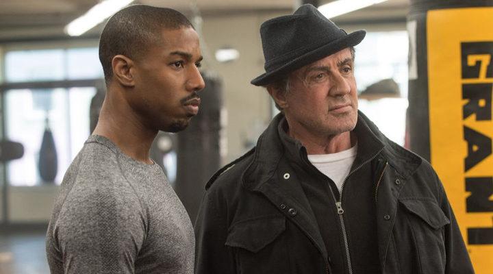 Sylvester Stallone y Michael B. Jordan en 'Creed. La Leyenda de Rocky'
