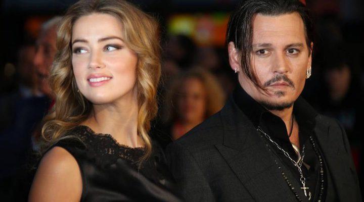 Amber Heard junto a su ex marido Johnny Depp