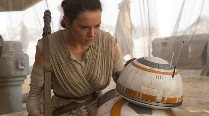 Daisy Ridley en 'Star Wars: Episodio VII'