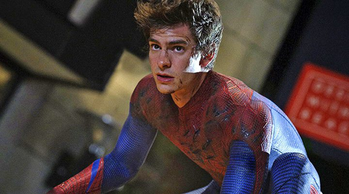 Andrew Garfield como Spiderman