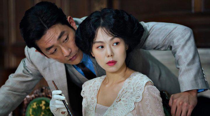 Kim Min-hee y Ha Jung-woo en una escena de 'La Doncella'