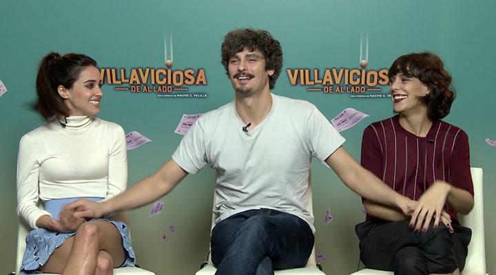 Macarena García, Antonio Pagudo y Belén Cuesta