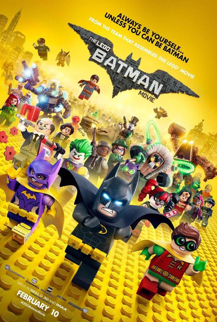 Póster de 'Batman: La LEGO Película