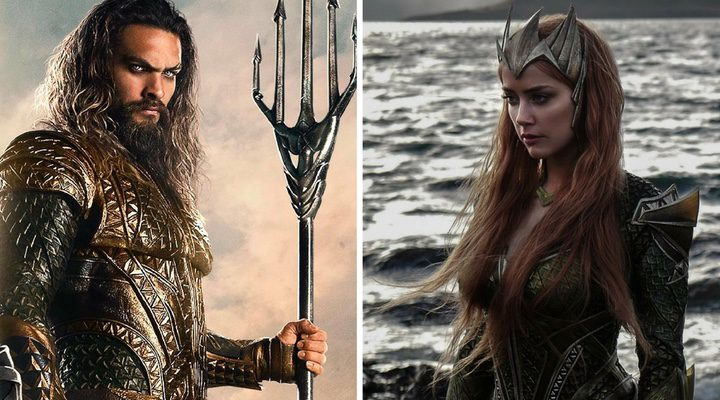 Jason Momoa será Aquaman y Amber Heard será Mera en 'Aquaman'