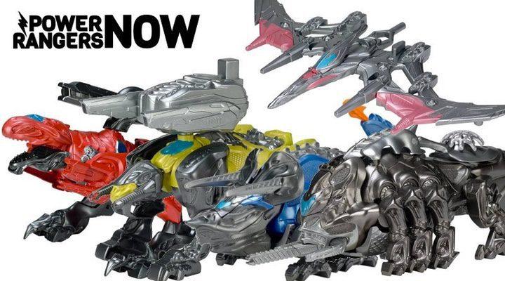 Dinozords juguetes