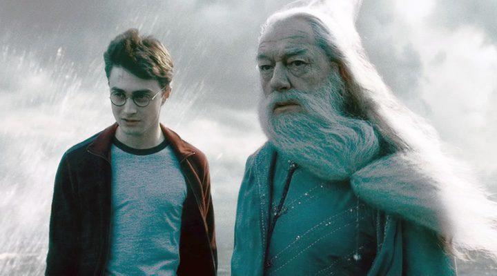 Harry y Dumbledore en 'El misterio del príncipe'