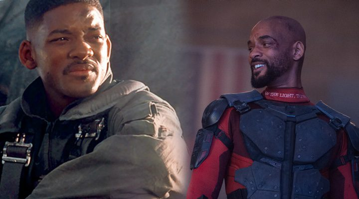 Will Smith en 'Independence Day' y 'Escuadrón Suicida'