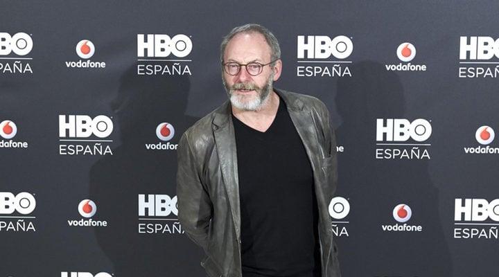 Liam Cunningham, Jeffrey Wright y Sarah Jessica Parker en el evento de HBO en Madrid