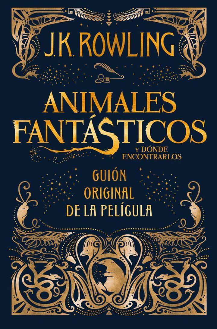 Portada del guión en español de 'Animales Fantásticos y Dónde Encontrarlos'