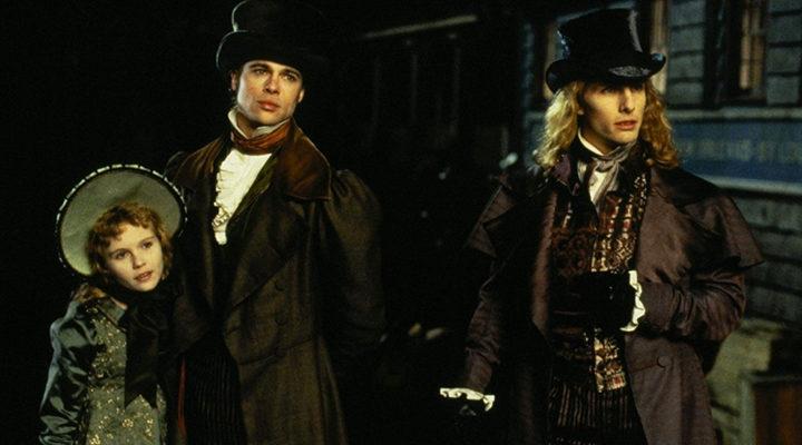 Kirsten Dunst, Brad Pitt y Tom Cruise en 'Entrevista con el vampiro'