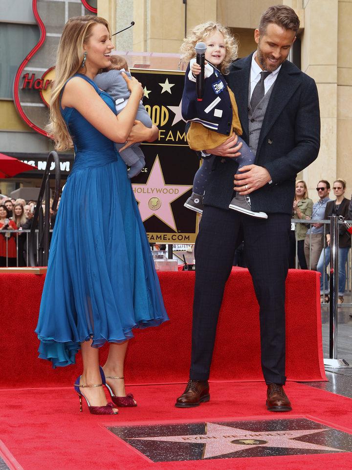 Ryan Reynolds estrena estrella en el Paseo de la Fama