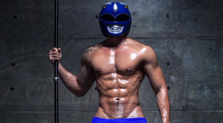 Power Ranger Azul sexy