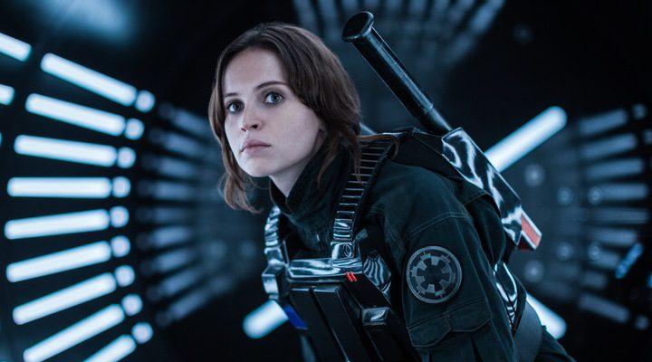 Felicity Jones en Jyn Erso en 'Rogue One: Una historia de Star Wars'