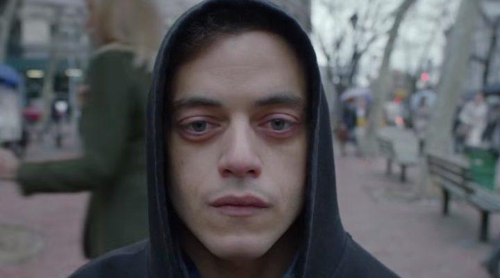 Rami Malek en 'Mr. Robot'