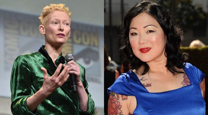 Tilda Swinton y Margaret Cho