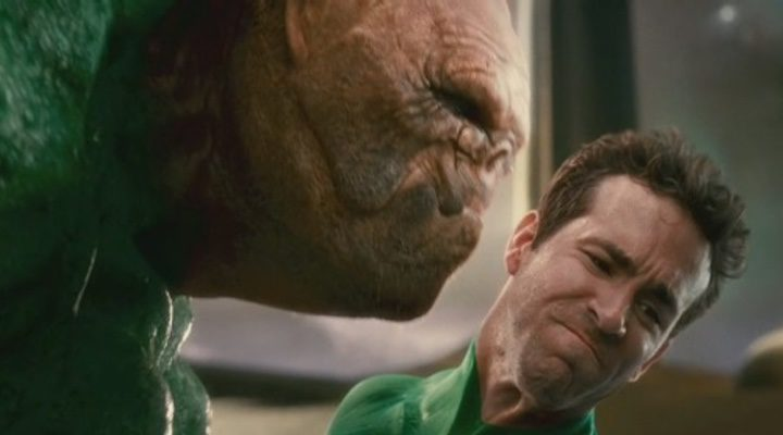 Ryan Reynolds como 'Linterna Verde'