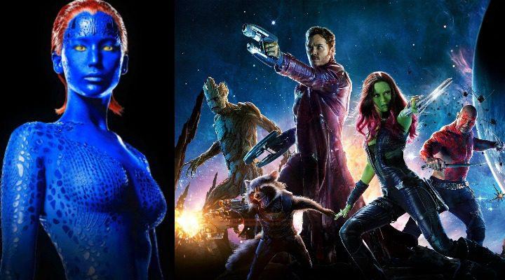 Mística y Guardianes de la galaxia