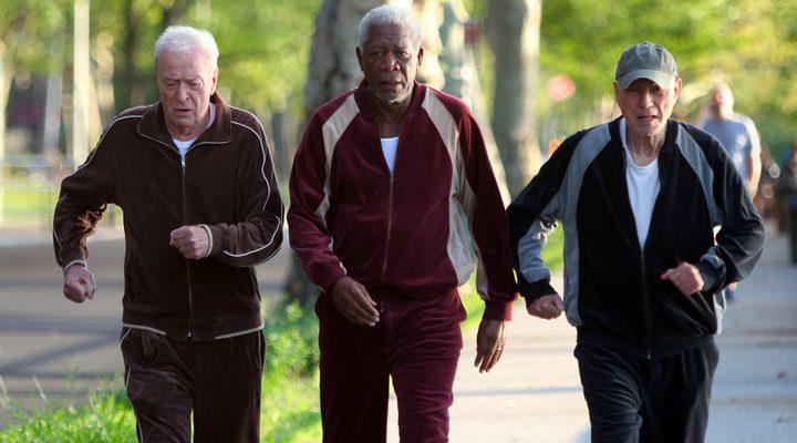 Michael Caine, Morgan Freeman y Alan Arkin en 'Un golpe con estilo'