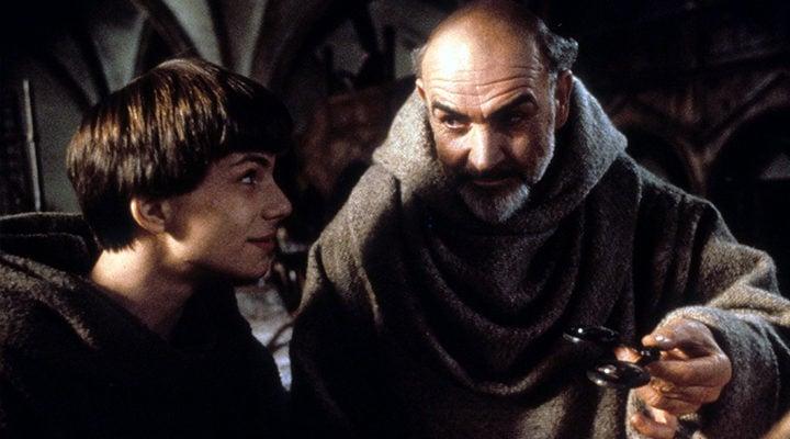 Christian Slater y Sean Connery en 'El nombre de la rosa'