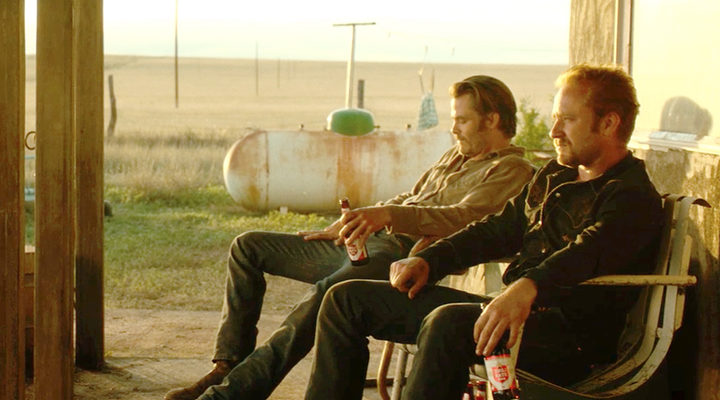 Ben Foster y Chris Pine en 'Comanchería'