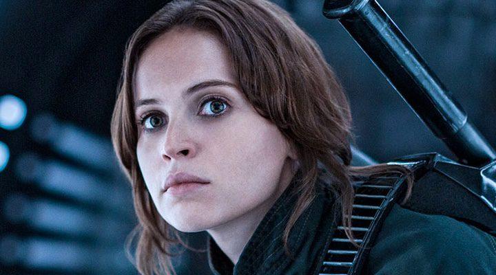 Felicity Jones como Jyn Erso en 'Rogue One: Una historia de Star Wars'