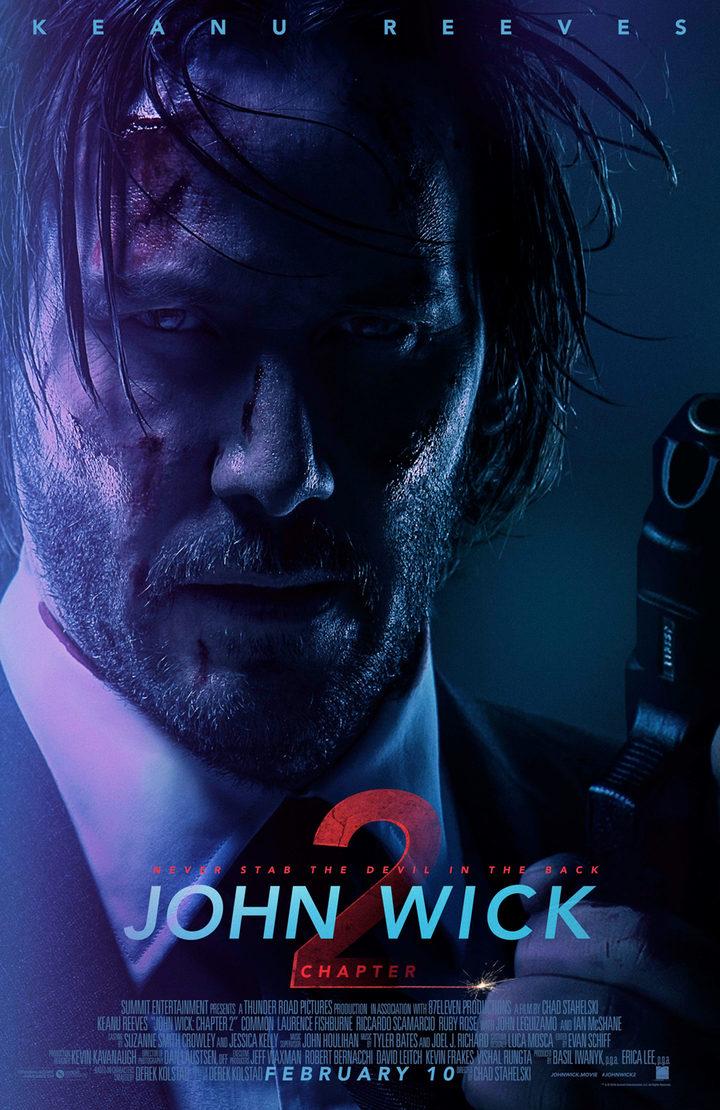 Póster de 'John Wick: Pacto de sangre'