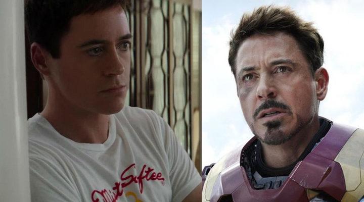 Downey Jr. rejuvenecido digitalmente