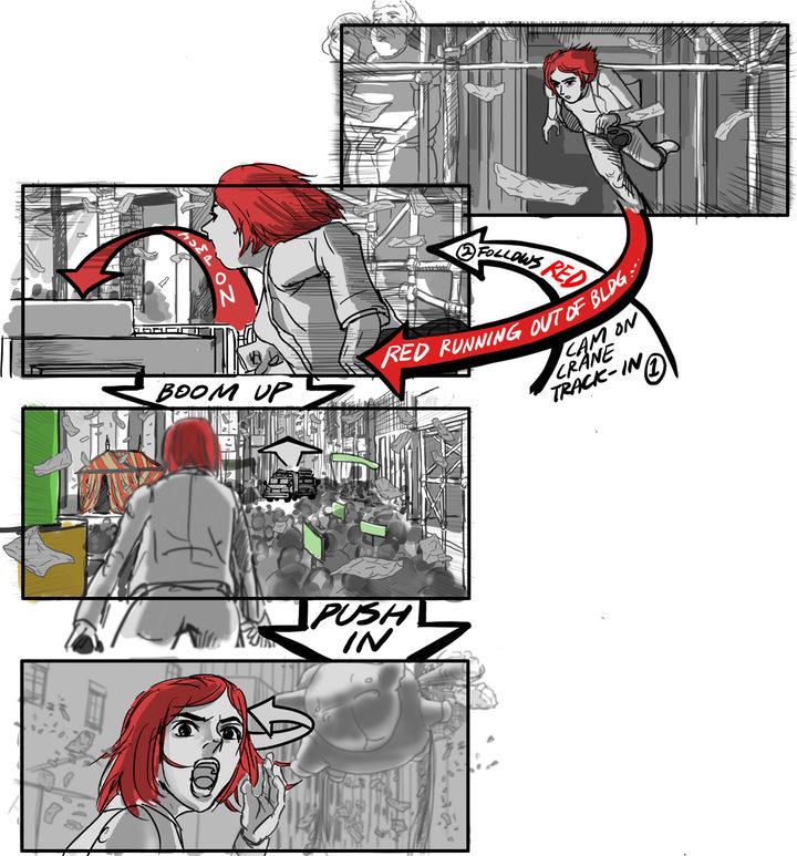 Storyboard de 'Okja'