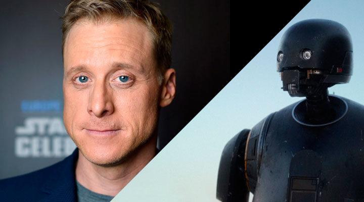 Alan Tudyk interpreta a K-2SO en 'Rogue One: Una historia de Star Wars'