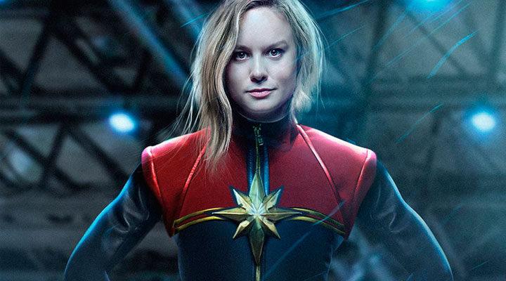 Montaje fan-made de Brie Larson como 'Captain Marvel'