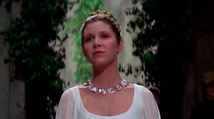 Princesa Leia en 'Una nueva esperanza'