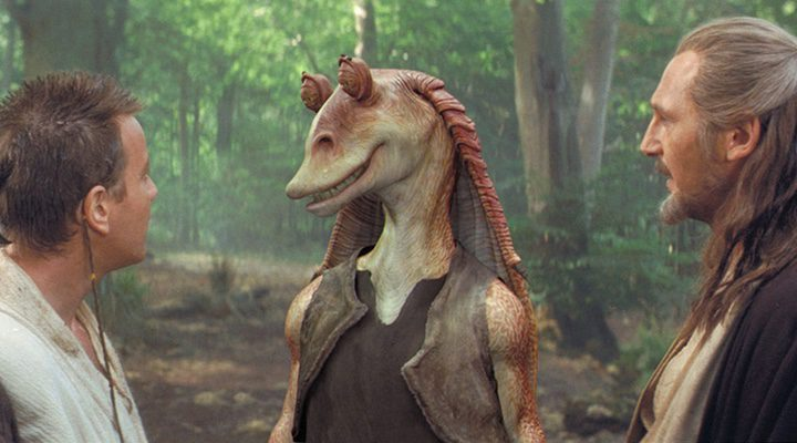 'Star Wars: Episodio I - La amenaza fantasma'