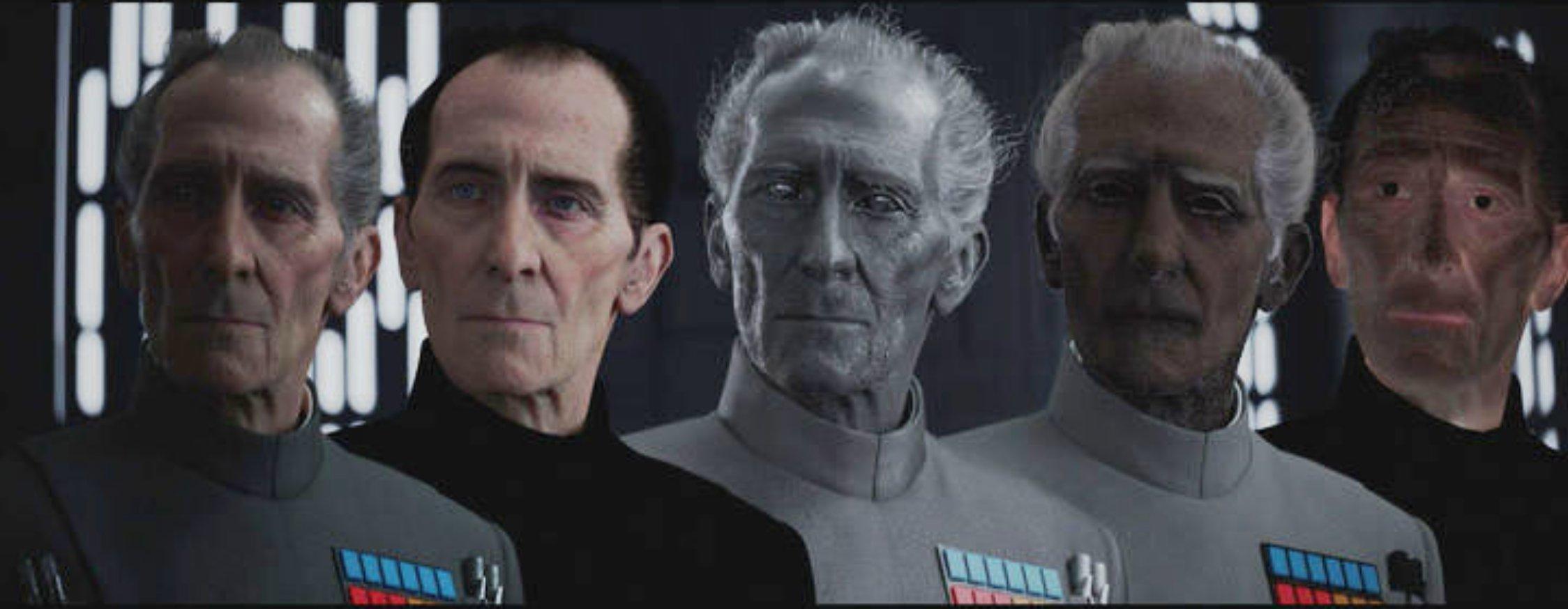 Guy Henry en el rodaje de 'Rogue One: Una historia de Star Wars'