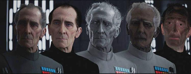 Creación de Tarkin en 'Rogue One'