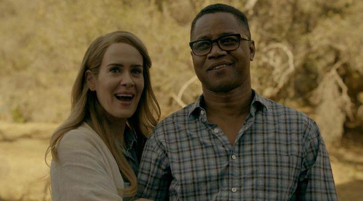 Sarah Paulson y Cuba Gooding en la sexta temporada de 'American Horror Story'