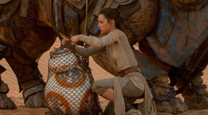 Imagen de 'El despertar de la Fuerza', precuela del 'Episodio VIII'