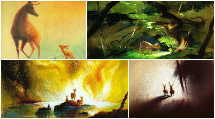 Pinturas de Tyrus Wong