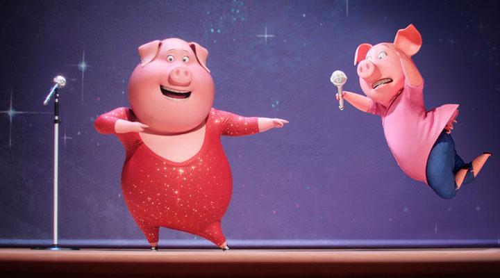 '¡Canta!' es la película más taquillera del viernes